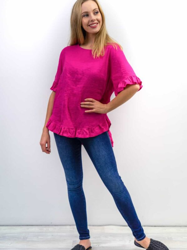 Ruffle Edge Top